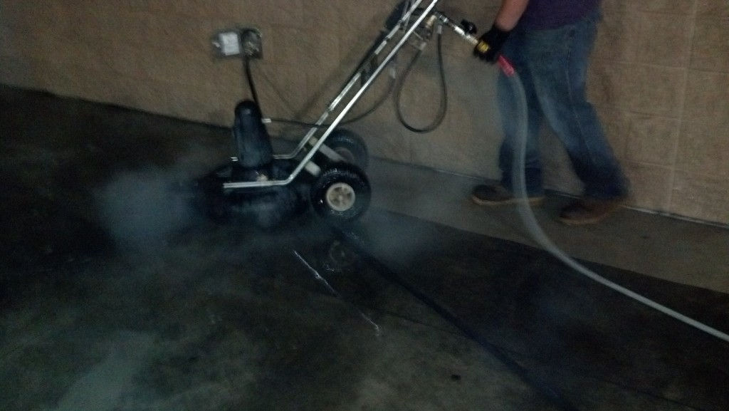 Parking Garage Pressure Washing Indiana