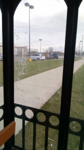 Indiana Bus Shelter Cleaning